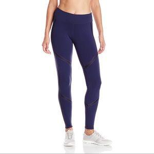 Alo Yoga Talia Leggings Navy Black Glossy Sz XS